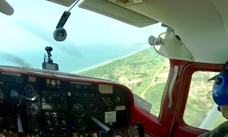 Flying in The Gambia 1