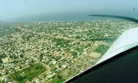 Flying in The Gambia 2