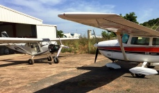 Flying in the Gambia 3